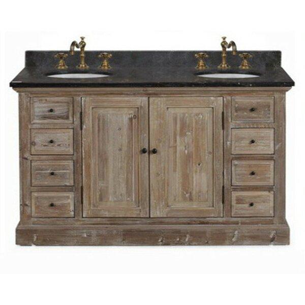 Clemmie 61 Double Bathroom Vanity Set by Laurel Foundry Modern Farmhouse