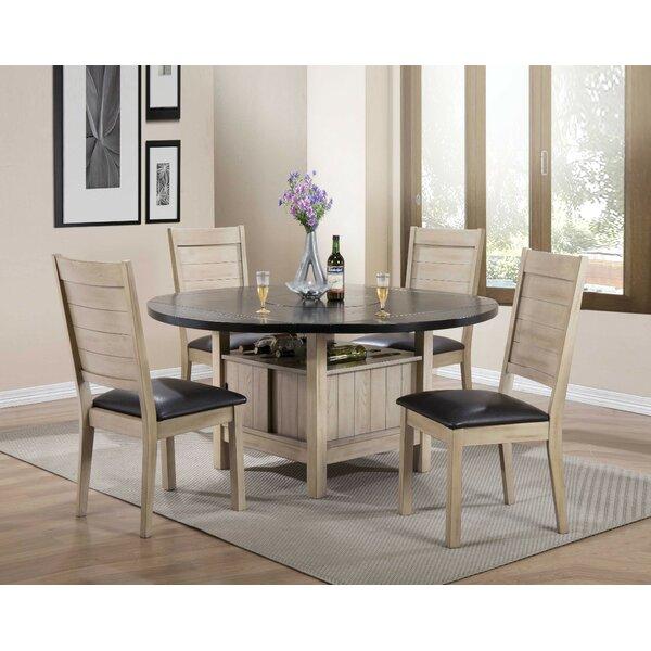 Porydzy Drop Leaf Dining Table by Red Barrel Studio