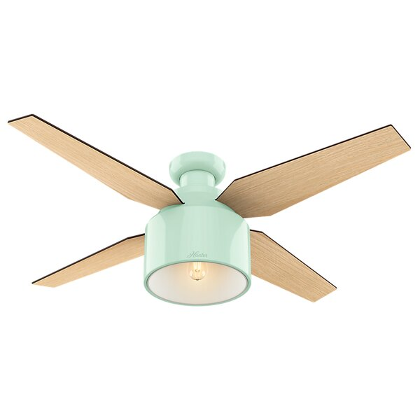 52 Cranbrook 4 Blade Ceiling Fan with Remote by Hunter Fan