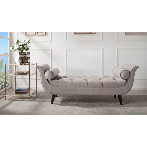Kalel Upholstered Bench by Willa Arlo Interiors