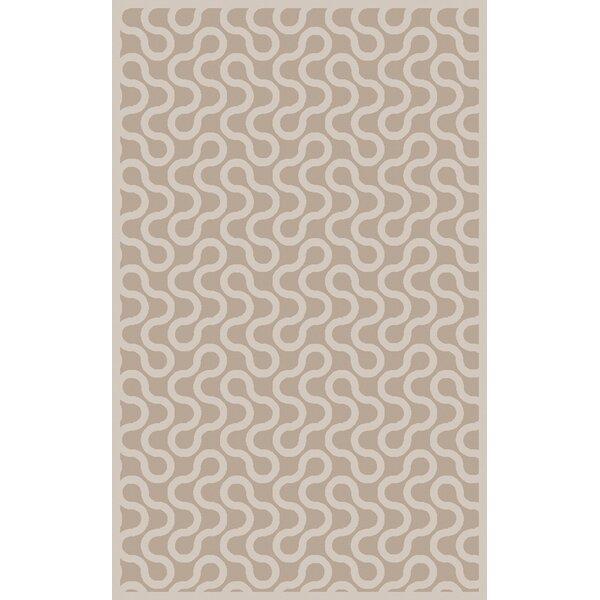 Native Gray/Ivory Geometric Area Rug by Aimee Wilder Designs