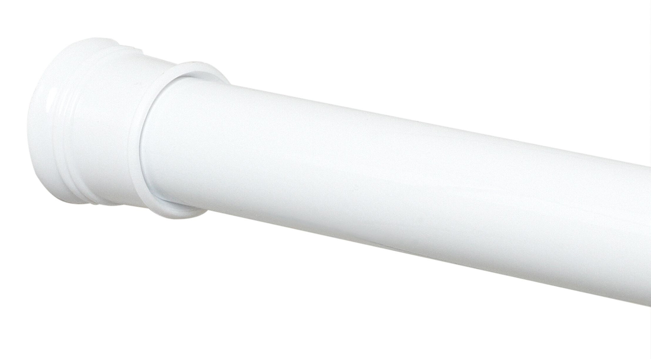 Zenith 60 Adjustable Straight Tension Shower Curtain Rod Reviews