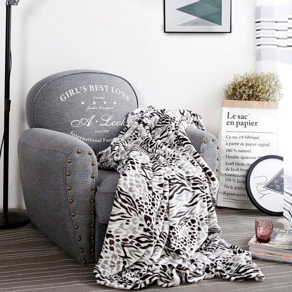 Avilla Leopard Blanket by Bloomsbury Market