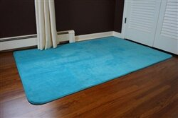 Sperling Aqua Area Rug by Ebern Designs