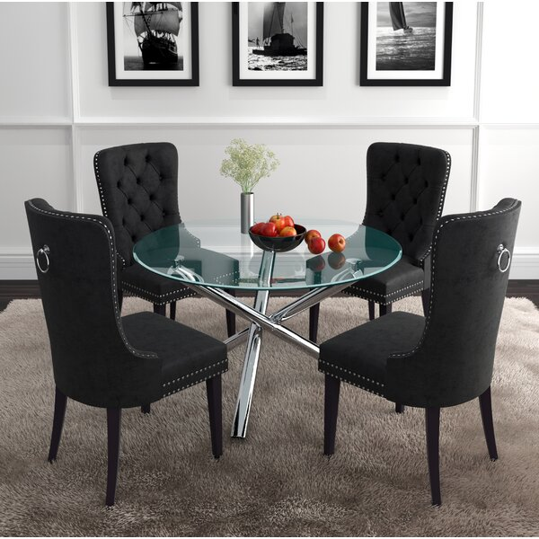 Nielsen 5 Piece Dining Set by Mercer41