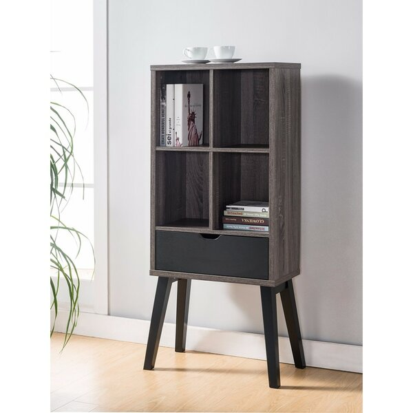 Franks Cube Unit Bookcase with Flared Legs by Brayden Studio