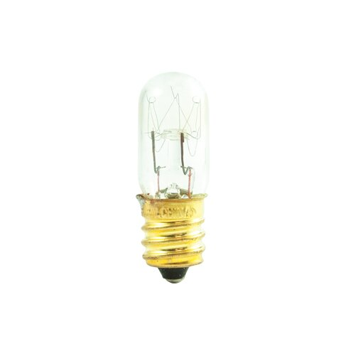 Tubular 6W Incandescent Amusement and Appliance Bulb (Set of 40) by Bulbrite Industries