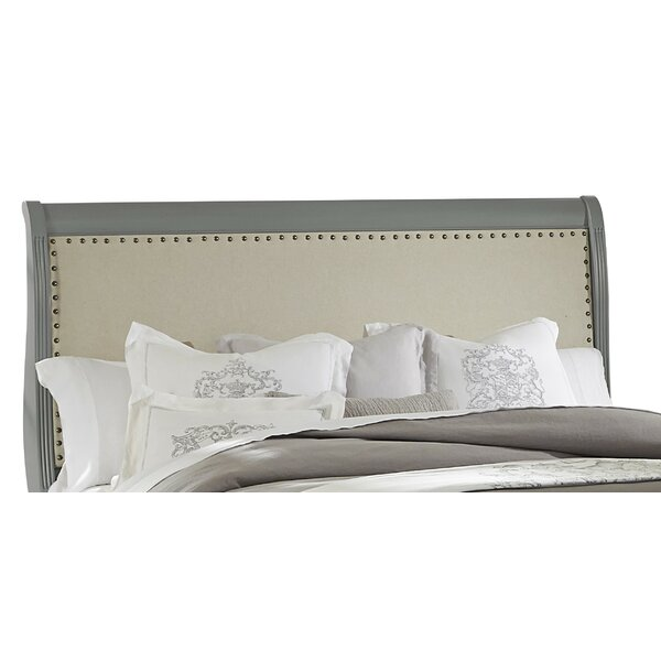 Erving Upholstered Sleigh Headboard by Darby Home Co