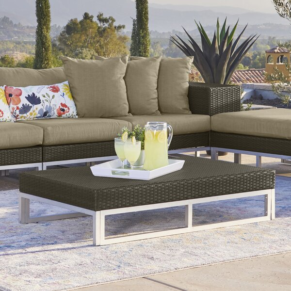 Ellie 7 Piece Rattan Sectional Seating Group with Cushions by Ivy Bronx