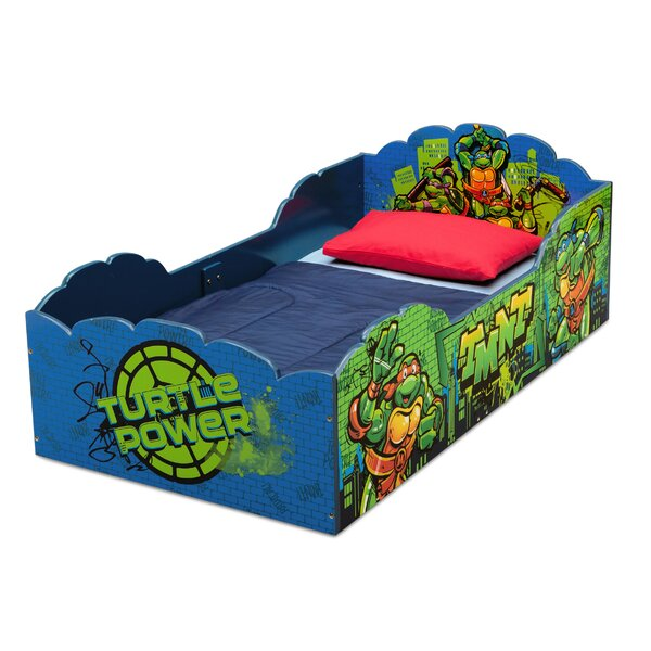 Teenage Mutant Ninja Turtles Convertible Toddler Bed by Delta Children