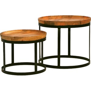Olive 2 Piece End Table Set by Mobital