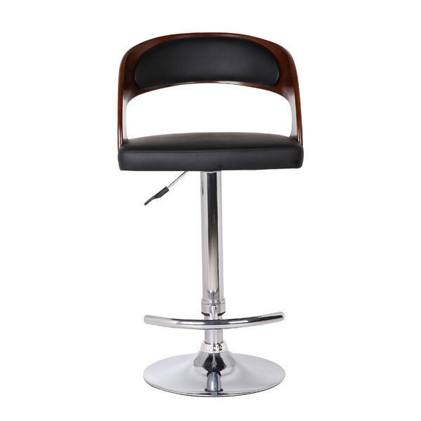 Adjustable Height Swivel Bar Stool by Container