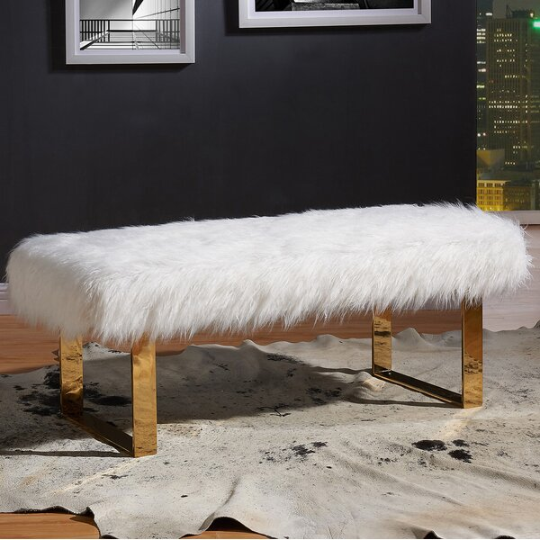 Ager Upholstered Bench by Willa Arlo Interiors