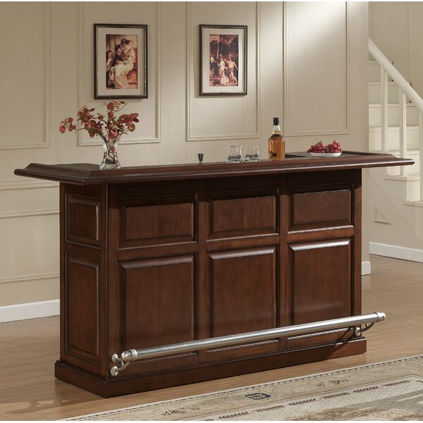 Catania Bar with Wine Storage by American Heritage American Heritage