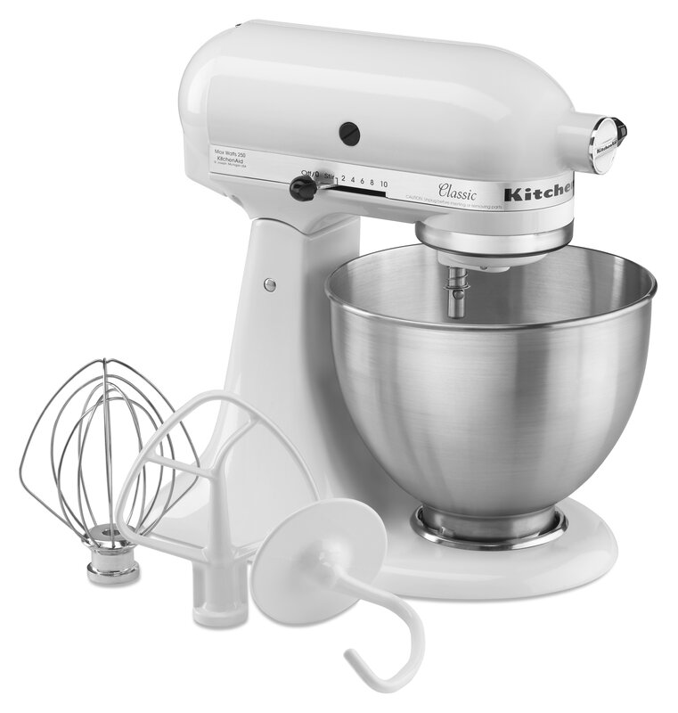 Kitchenaid Classic Series 4.5 Qt. Tilt-Head Stand Mixer & Reviews
