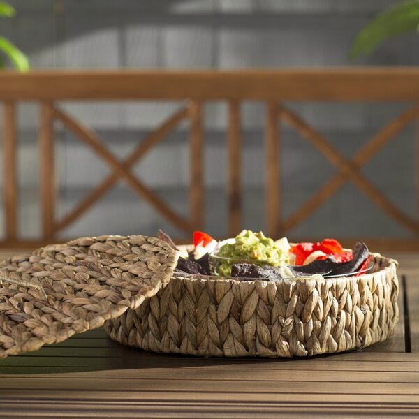Kelston Mills Chip & Dip Tray by Beachcrest Home