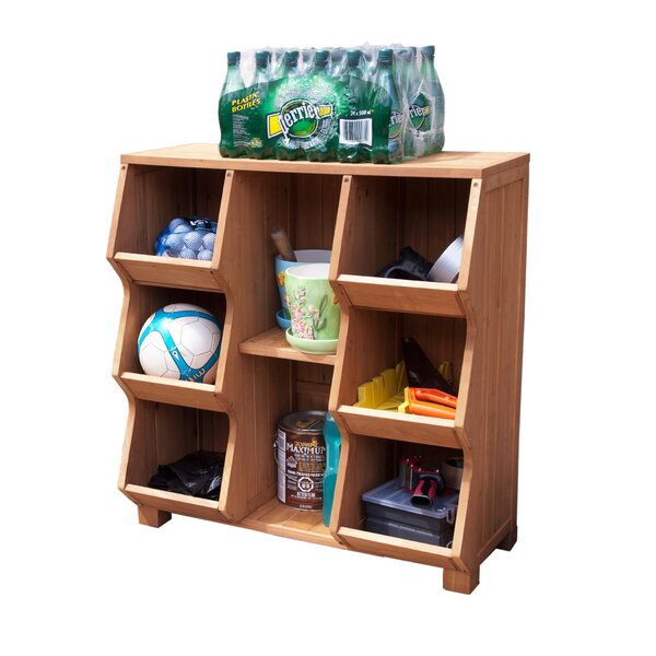 Stackable 8 Compartment Cubby By Atlantic Outdoor.