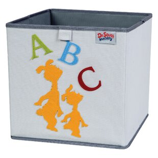 Reviews Dr. Seuss ABC Fabric Storage Bin By Trend Lab