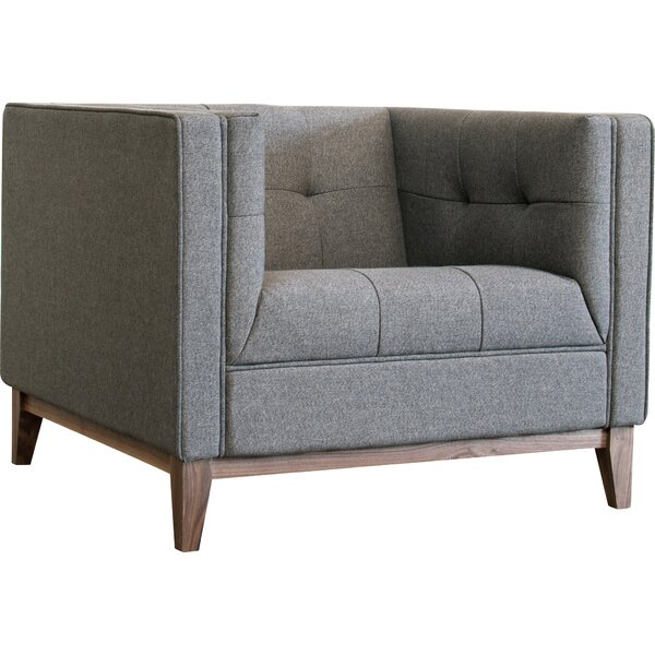 Atwood Chesterfield Chair by Gus* Modern