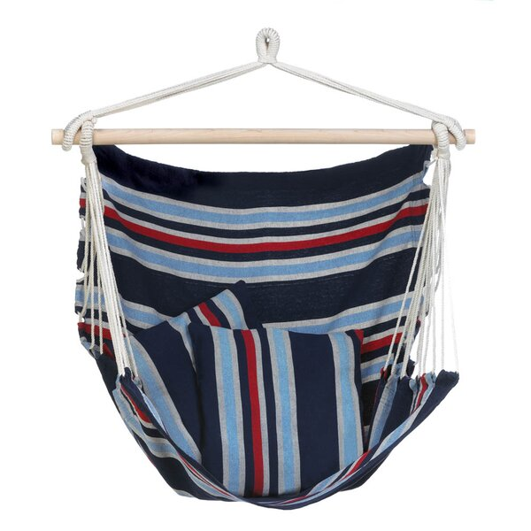 Lapierre Nautical Stripes Chair Hammock by Breakwater Bay