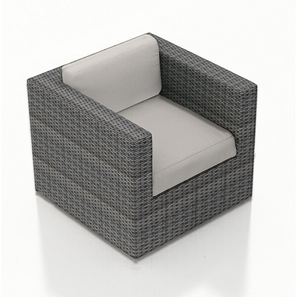 District Swivel Glider Patio Chair with Cushion by Harmonia Living