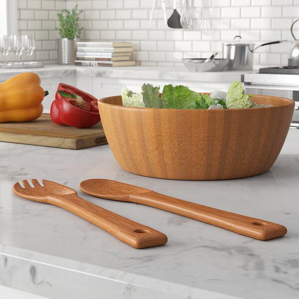 Layfield 3 Piece Salad Bowl Set by Beachcrest Home
