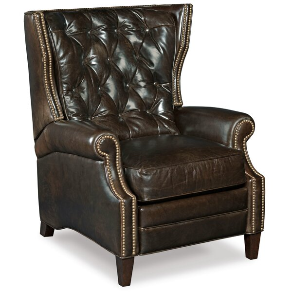 Balmoral Leather Manual Recliner by Hooker Furniture