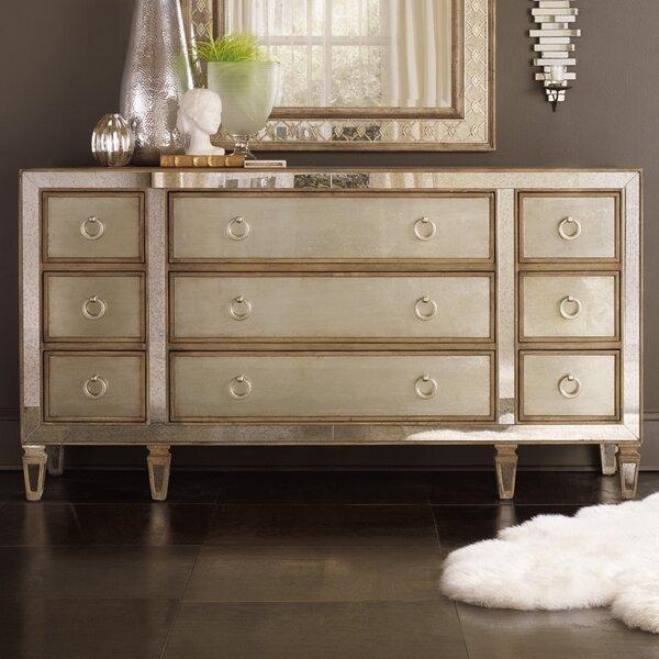 Sanctuary 9 Drawer Dresser by Hooker Furniture