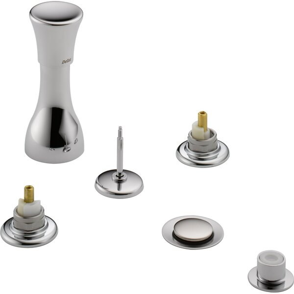 Other Core Widespread Vertical Bidet Faucet Less Handles by Delta