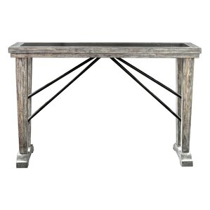Peterson Driftwood Console Table by Gr..