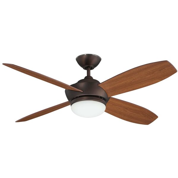 52 Garvin 4 Blade Ceiling Fan With Remote by Concord Fans
