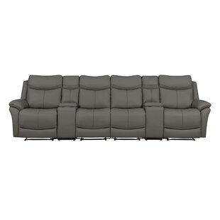 Cheryll 4 Seat Wall Hugger Reclining Sofa