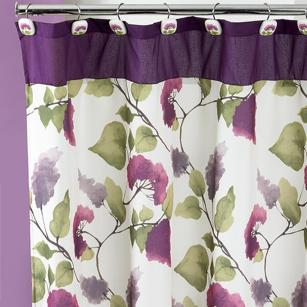 Jasmine 13 Piece Shower Curtain Set by Sweet Home Collection