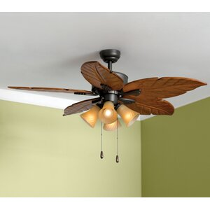 52″ St. Marks 4-Light 5-Blade Ceiling Fan