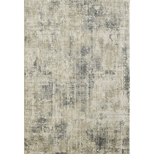Caddie Gray Area Rug by Ophelia & Co.