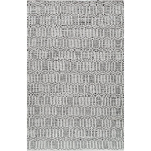 Hand-Woven Silver Area Rug by The Conestoga Trading Co.