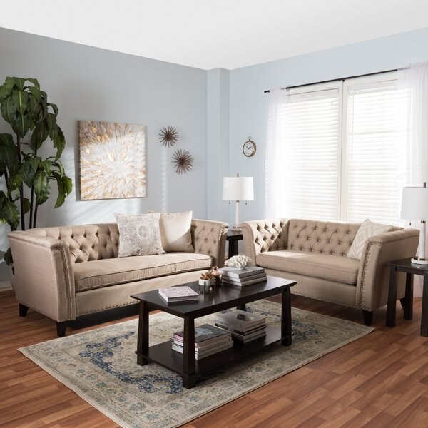 Stony Point 2 Piece Living Room Set by Alcott Hill