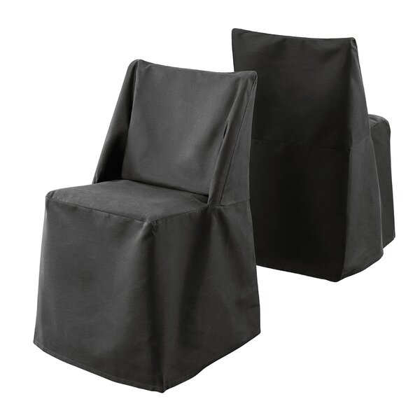 Cotton Duck Box Cushion Dining Chair Slipcover By Sure Fit
