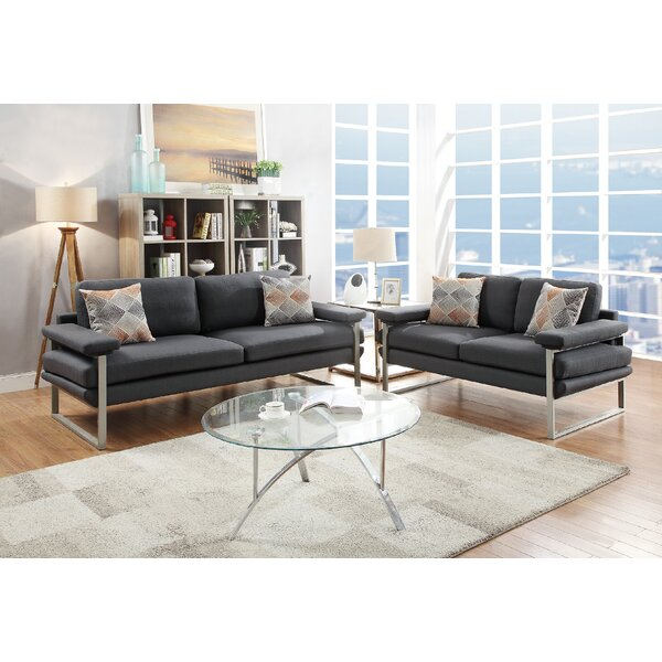 Stroh 2 Piece Living Room Set by Orren Ellis