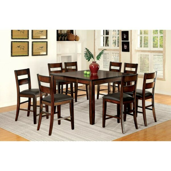 Mcfee Transitional 9 Piece Pub Table Set by Millwood Pines