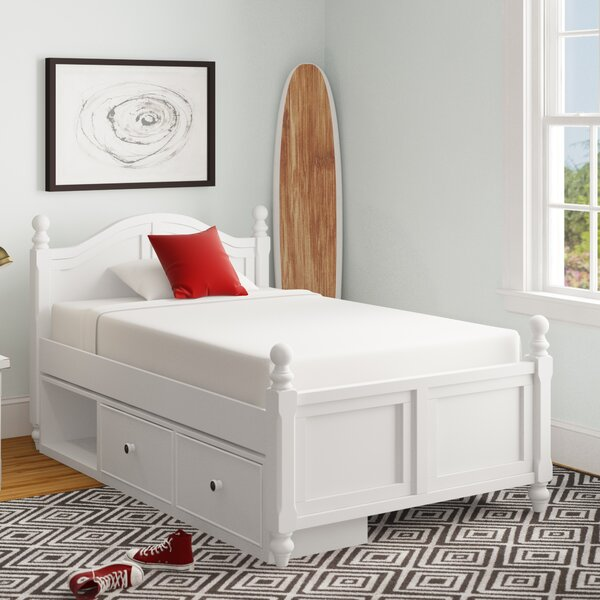Nickelsville Twin Panel Bed with Drawers by Three Posts Baby & Kids Three Posts Baby & Kids