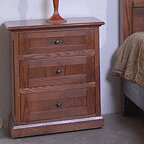 Chassidy 3 Drawer Nightstand by Loon Peak