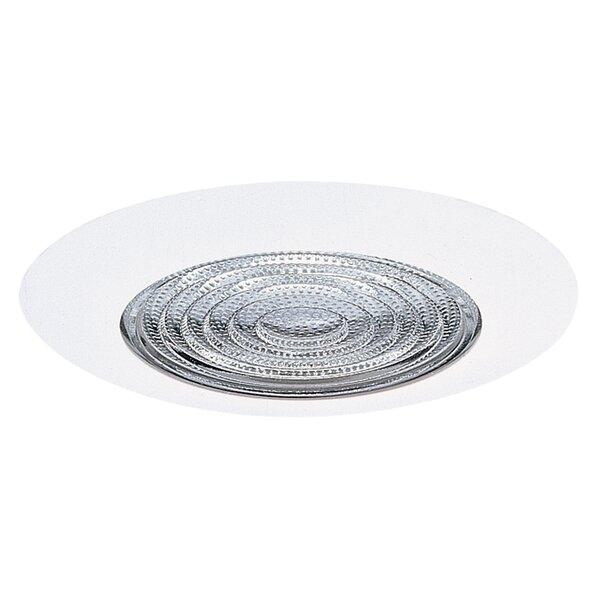 Lexan Fresnel Shower 6 Recessed Trim by NICOR Lighting