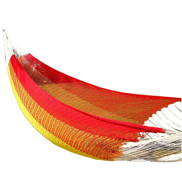 Lisa Double Tree Cotton Hammock by Freeport Park