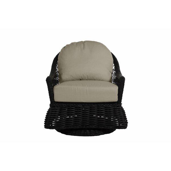 Soho Swivel Glider Chair with Cushions