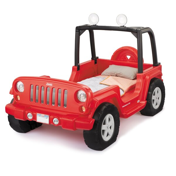 Jeep Wrangler Twin Car Bed by Little Tikes