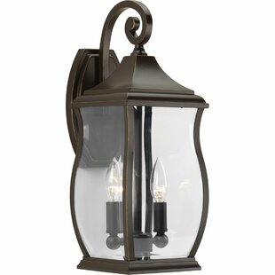 Read Reviews El Paso 2-Light Outdoor Wall Lantern By Darby Home Co
