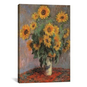 'Sunflowers 1889' by Vincent van Gogh Graphic Art Print by East Urban Home