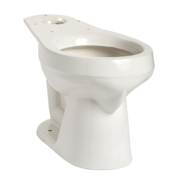 Summit Round Toilet Bowl by Mansfield Plumbing Products