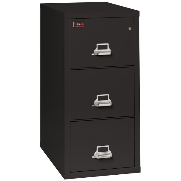Fireproof 3-Drawer 2-Hour Rated Vertical File Cabinet by FireKing